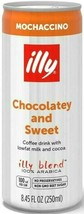 Illy Coffee Mochaccino Chocolate & Sweet Coffee Drink 8.45 oz ( Pack of 6 ) - $22.76