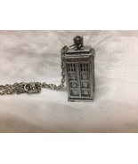 TARDIS necklace Doctor Who - $2.97