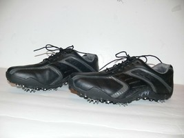 FootJoy Summer Series Women's Black Leather Golf Shoes Size 7 M - $25.00