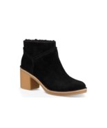 UGG  Kasen Genuine Sheepskin Lined Bootie Black Mult Sizes - $119.99