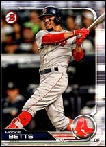 2019 Bowman #50 Mookie Betts NM-MT Boston Red Sox  Officially Licensed M... - $1.25