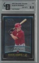 2001 Bowman Chrome #310 Austin Kearns Rookie Card GAI 8.5 NM MT + NM MT - $19.75