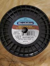 "Beadalon 49-Strand 0.024"" (0.61 mm) 5000 ft (1524 m) Bright Bead... - $1,500.00"