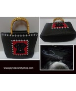 San Diego Hat Co Bamboo Ultra Braid Purse Black Rottweiler  - $19.99