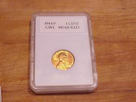 1944 P Lincoln Wheat Cent Blazing Red Color ...    U - GRADE - $32.73