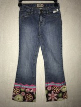 Girls Size 10 Custom Flare Jeans Toodlecakes Childrens Place Medallion F... - $9.99