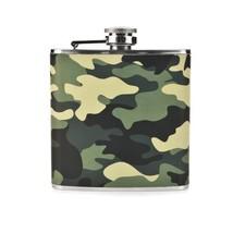 Pocket Flask, Camouflage 6 Oz Stainless Steel Flask Metal For Pocket Liquor - €26,77 EUR