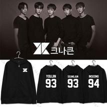 Kpop KNK Zipper Hoodie Unisex  Pullover Sweater Sweatershirt Youjin - $14.10