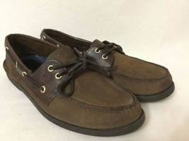 Sperry Top Sider Boat Shoes 2-Eye Brown men's size 11 - $44.55