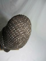 Hawaiian Pueo Owl Sculpture Figurine Handwoven Fabric Yarn Fiber Art Spitz-Nagel image 10