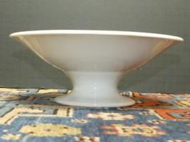 Stunning Rosenthal Bavaria White Porcelain Mid Century Shallow Pedestal ... - $34.30