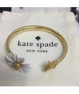 Kate Spade New York All Abuzz  Bee Open Hinged Cuff Bracelet w/ KS Dust ... - $43.99