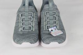 Skechers Jugend Mädchen Schuhe Sneaker Grau ohne Bügel Größe 10.5 image 6