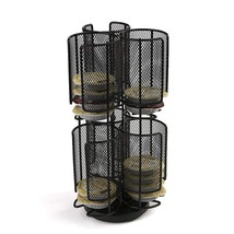 Mind Reader 2-Tier Tassimo Coffee Storage Carousel Rack, Black - $15.53