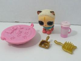 LOL Surprise Pet Secret Agent Kitty cat w/ accessories sand - $12.86