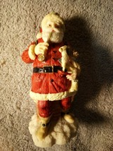SANTA CLAUS FIGURINE 1992  International  United States  -FREE SHIP--VGC - $13.68