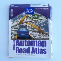 Microsoft Automap Road Atlas CD-ROM 1995 - $26.18