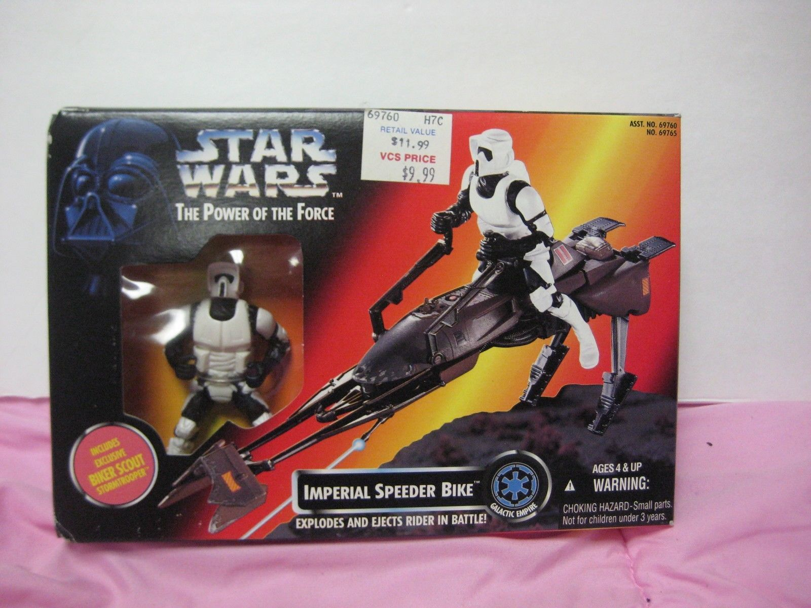 Atar Wars The Power Of The Force Imperial Speeder Bike Action- & Spielfiguren
