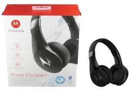 Motorola SH013 BK Pulse Escape + Wireless Over-Ear Headphones Bluetooth ... - $46.95