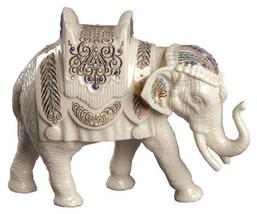 Lenox China Jewels Nativity Elephant Figurine Standing Lucky Christmas NEW - $115.00