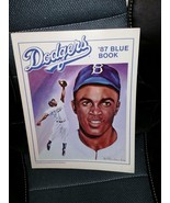 Dodgers Blue Book, 1987 by Tot Holmes (1987, Paperback) - $50.00
