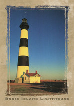 Bodie Island Lighthouse Outer Banks North Carolina Printed Unused Postcard - $16.44