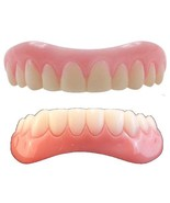 Instant Smile Veneer Set with Small Top Set of White Teeth and Bottom Se... - $28.66