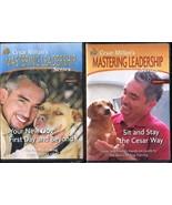 Lot 2 CESAR MILLAN'S Mastering Leadership Series DVD Vol 3 & 4 Dog Train... - $16.00