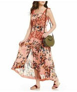 Free People Lover Boy Floral Print Button Front Maxi Dress MSRP: $148.00 - $99.99