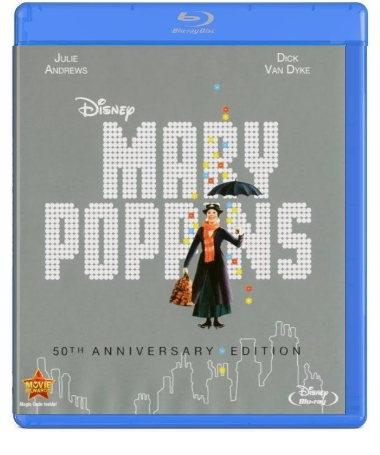 Disney Mary Poppins: 50th Anniversary Edition (Blu-ray + DVD)