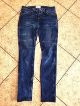Current Elliott Skinny sz 26 Women's Jeans Blue Rolled Denim - $45.49