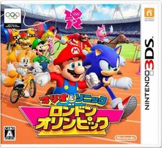 Mario & Sonic at the London 2012 Olympic Games [Japan Import] [video game] - $50.57