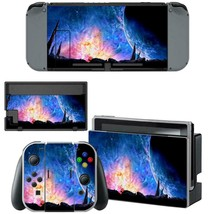 Nintendo Switch Console Dock Vinyl Skin Stickers Decals Galaxy Space Starry Sky - $9.50