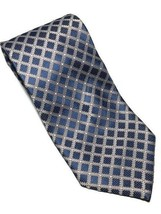 "Hugo Boss Men's Blue Geometric Woven Silk Neck Tie 58.25""L X 4""W - Made ... - $22.28"