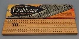 Vintage Cardinal's Bois Cribbage Board - $19.78