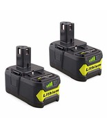 Lasica 4000mAh 18V Lithium Batteries P108 Replacement for Ryobi 18-Volt ... - $54.55
