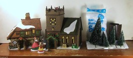 Dept 56 Dickens Village Spirit of Giving, Old East Rectory, Sudbury Chur... - $70.03