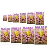 Nails IX Perforated 70/30 See Through Window Poster Vinyl Sign Salon ad ... - $23.96+