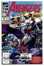 Avengers #316 copper age comic book Spider-Man joins the Avengers MCU - $25.22