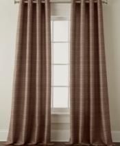 NEW Studio JCP Origins Textured Stripe Grommet Curtain Panel Hash Brown ... - $17.00