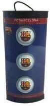 3 BARCELONA FOOTBALL CLUB CRESTED GOLF BALLS - $30.62