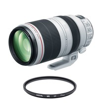 CANON EF 100-400mm F4.5-5.6L IS II USM + HOYA UX UV 77mm Filter - $2,542.19