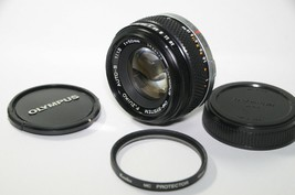 [As-is] Olympus OM-SYSTEM F.Zuiko Auto-S 50mm F1.8 W/ Filter From Japan - $107.42