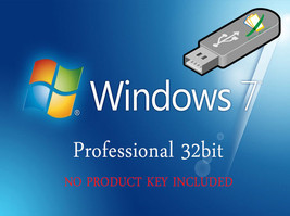 Microsoft Windows 7 Professional 32bit Re-Install Recovery Repair Fix Bo... - $16.48