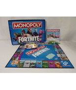 ORIGINAL Vintage 2018 Hasbro Fortnite Monopoly Board Game - $18.49