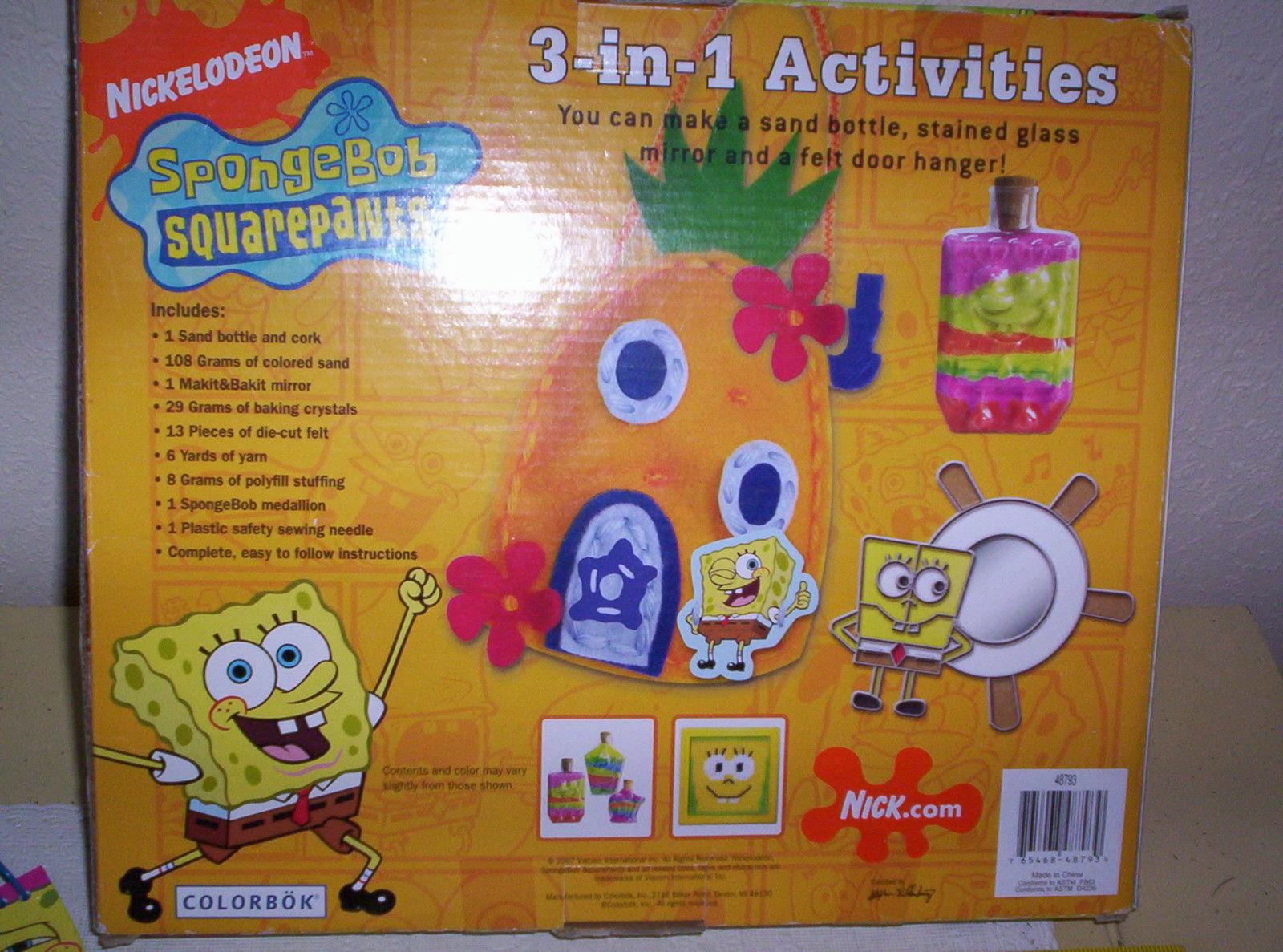 93296c714 Sponge Bob Squarepants Activity Craft Set and 50 similar items