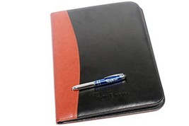 Rizwan Two Tone Professional Business Padfolio Organizer With Removable ... - $14.40