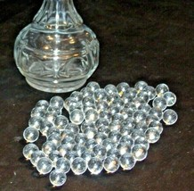 85 Clear Marble Collection with Cut Glass Vase AA-191799 Collectible Vintage
