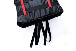 Portable Waterproof Oxford Clothes Life Jacket Size XXL Red - $21.49
