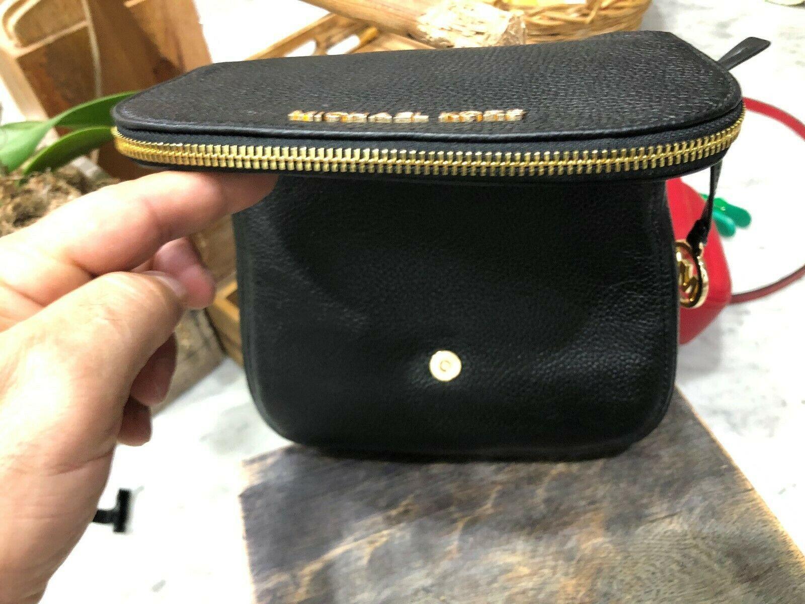 Michael Kors Classics Bedford Pocket Flap Small Crossbody Bag Pebbled $298 New image 9